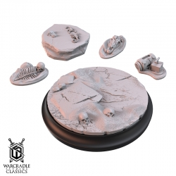Warcradle Classics - Union Badlands Large Base Topper & Scatter Terrain