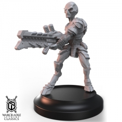 Warcradle Classics - Grey with Heavy Drain Rifle