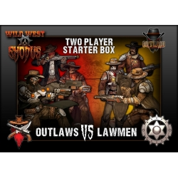 Outlaws vs Lawmen - 1st Edition Two Player Starter Box